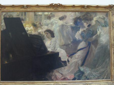 Paris tableau Petit Palais